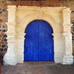 Colonial Church Door